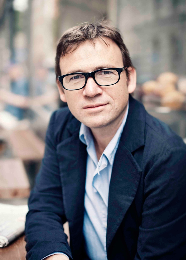 O escritor David Nicholls.