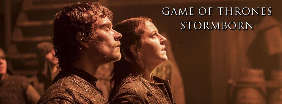 Theon e Yara Greyjoy.