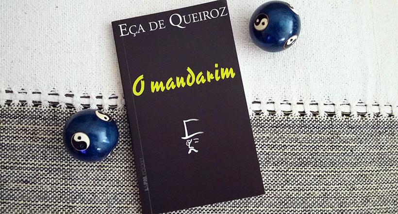 Capa do livro O Mandarim.