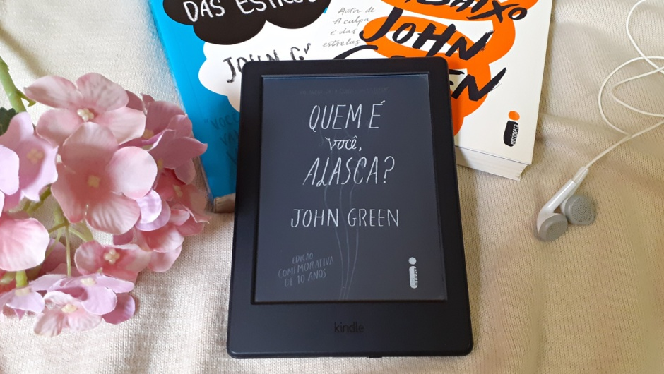 Capa de Quem é você, Alasca?, de John Green.