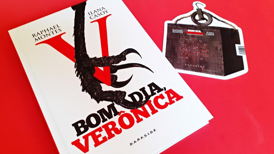 Capa do livro Bom dia Verônica, de Raphael Montes e Ilana Casoy.