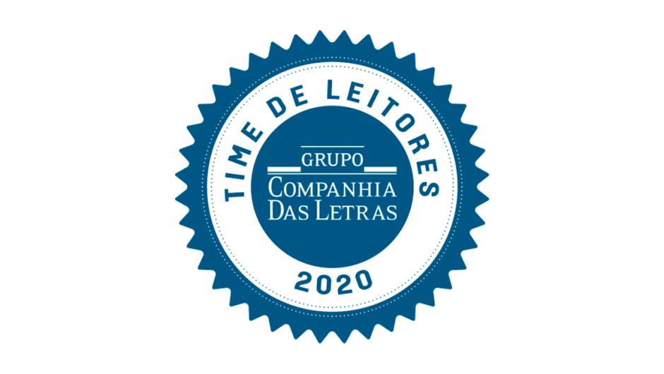 Selo do Time de Leitores da Companhia das Letras.