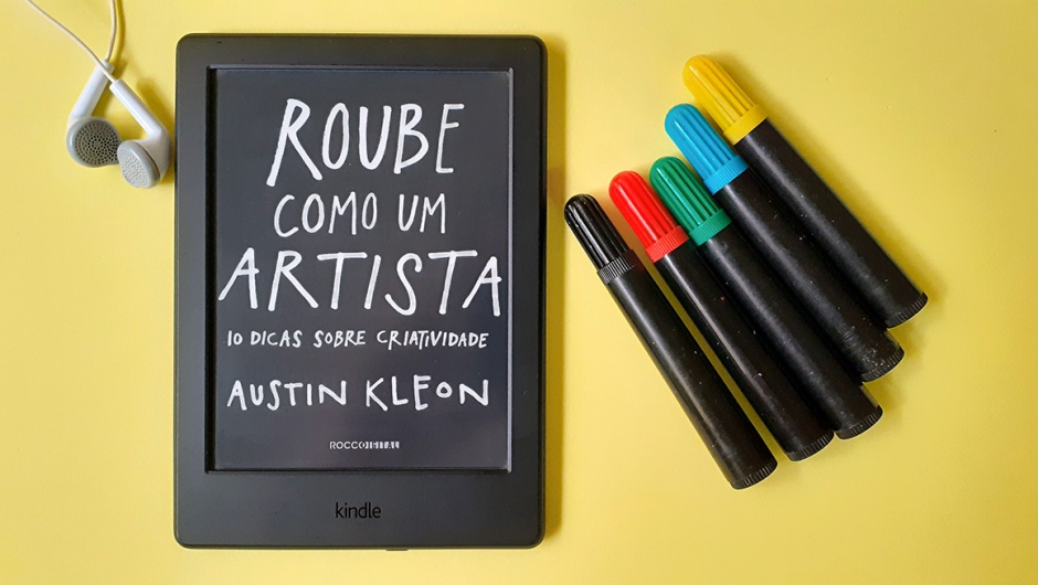 Capa do livro Roube como um artista, de Austin Kleon.