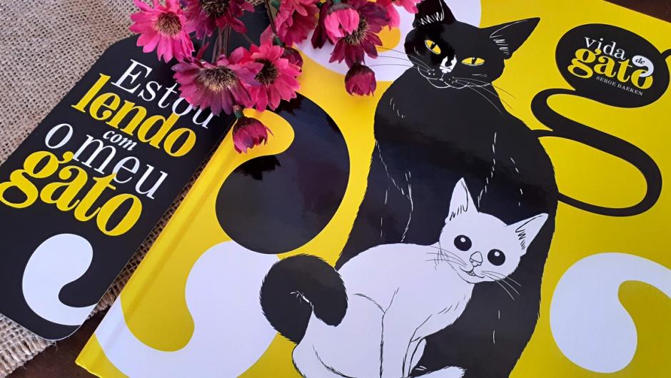 Capa do livro Vida de Gato da DarkSide Books.