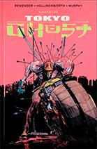 Capa da graphic novel Tokyo Ghost, publicada pela DarkSide Books.