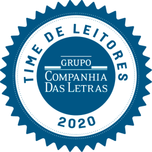 Selo Time de Leitores Companhia das Letras 2020.