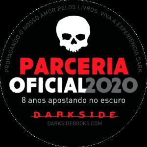 Selo Parceria Oficial DarkSide Books 2020.
