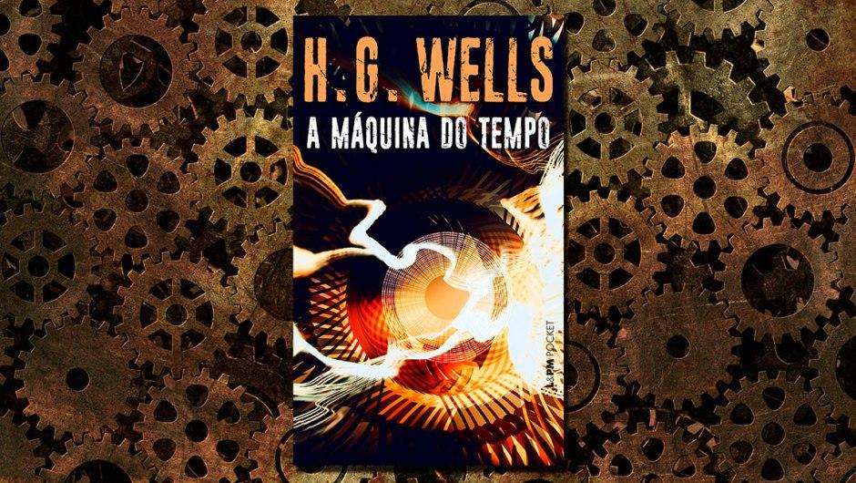 Capa A máquina do tempo, de H. G. Wells
