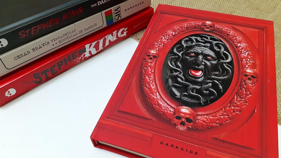 Capa Antologia Dark, de Cesar Bravo (DarkSide Books).