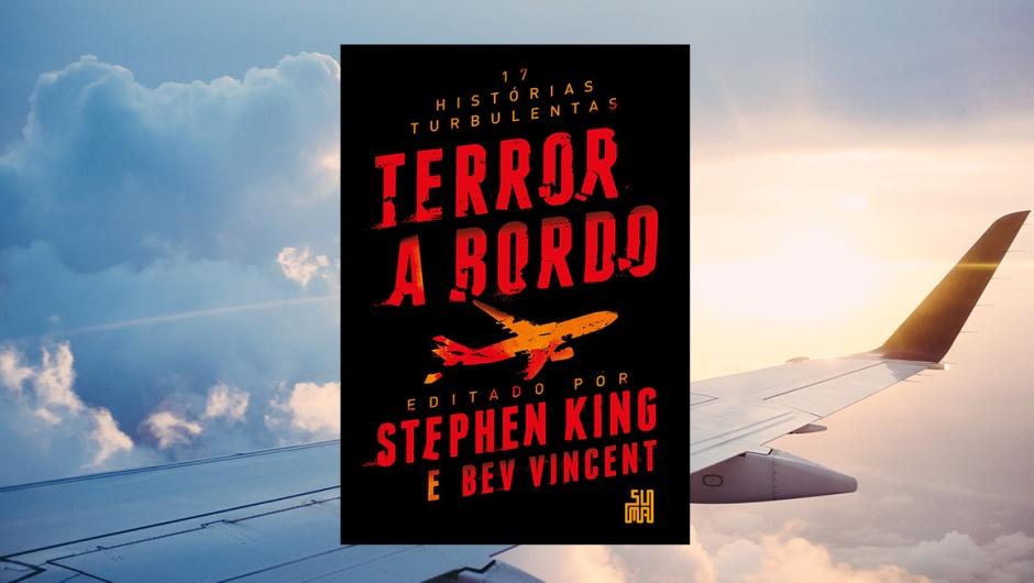 Capa da resenha do livro Terror a Bordo.