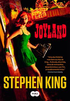 Capa do livro Joyland, de Stephen King.
