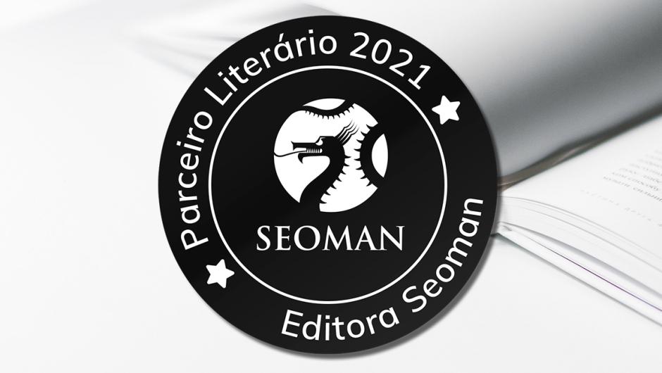 Capa parceria Editora Seoman