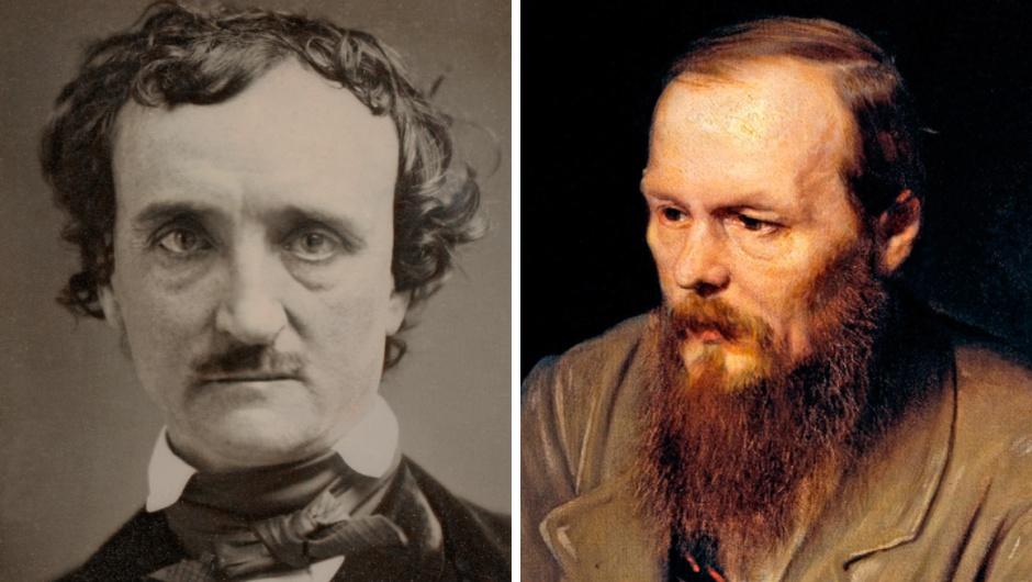 Edgar-Allan-Poe-e-Fiodor-Dostoievski