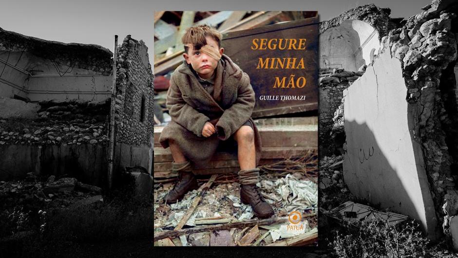 Capa do livro Segure Minha Mão, de Guille Thomazi.