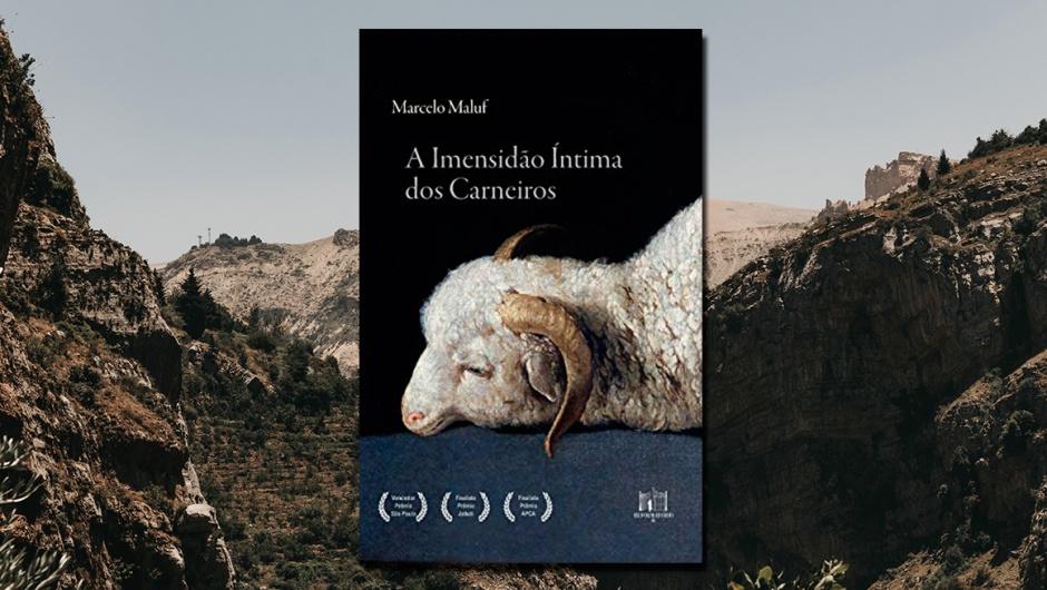 Capa-resenha-A-imensidão-íntima-dos-carneiros (Foto de Fundo: Ramy Kabalan/Unsplash).