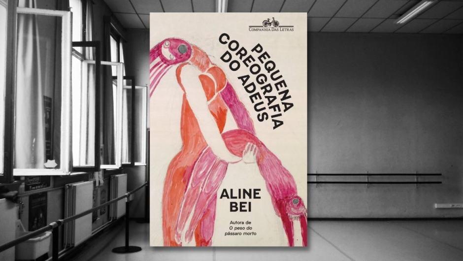 """Capa da resenha de """"Pequena coreografia do adeus"""", de Aline Bei."""